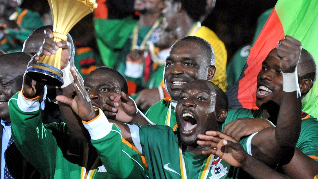 Zambia shocked the continent in 2012 when they claimed top honours at the African Nations' Cup.