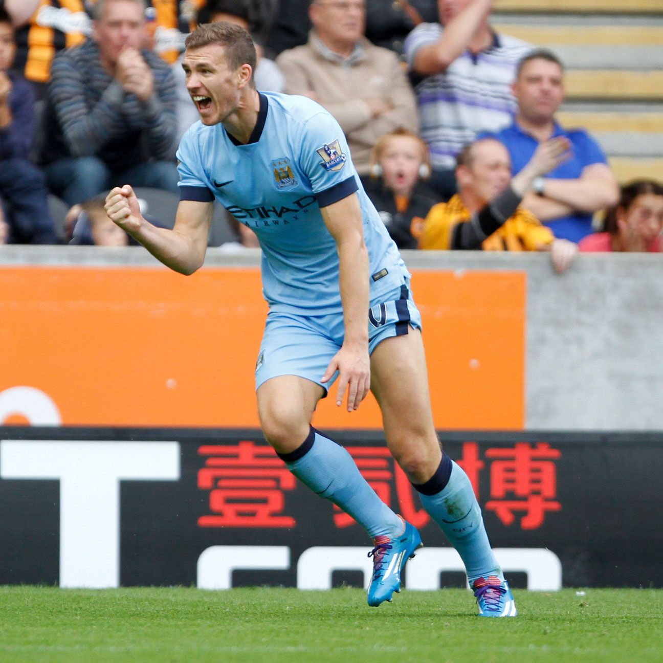 Edin Dzeko's brace versus Hull City earns his fantasy star status for the week.