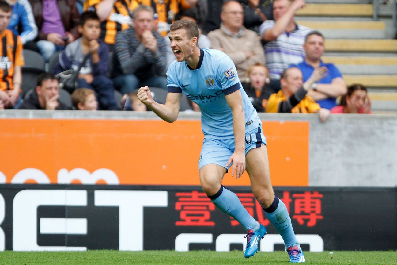 Edin Dzeko's brace versus Hull City earns his fantasy star status for the week.