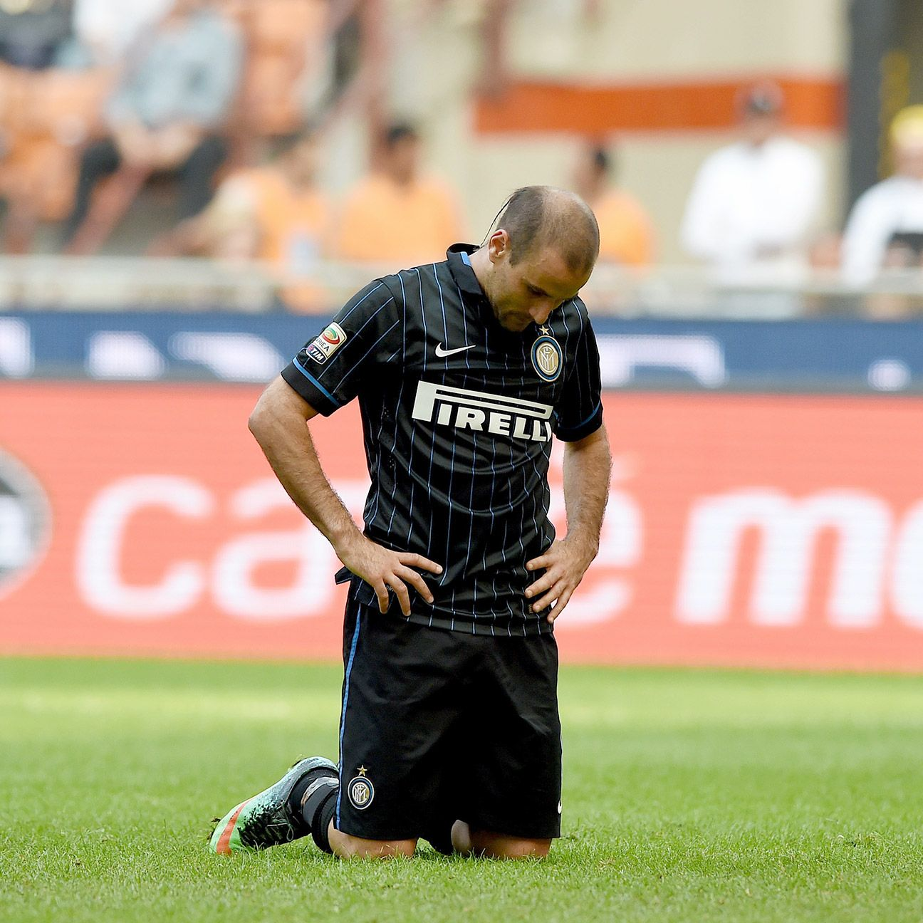 Rodrigo Palacio and Inter Milan had no answer for Cagliari's four-goal first half.