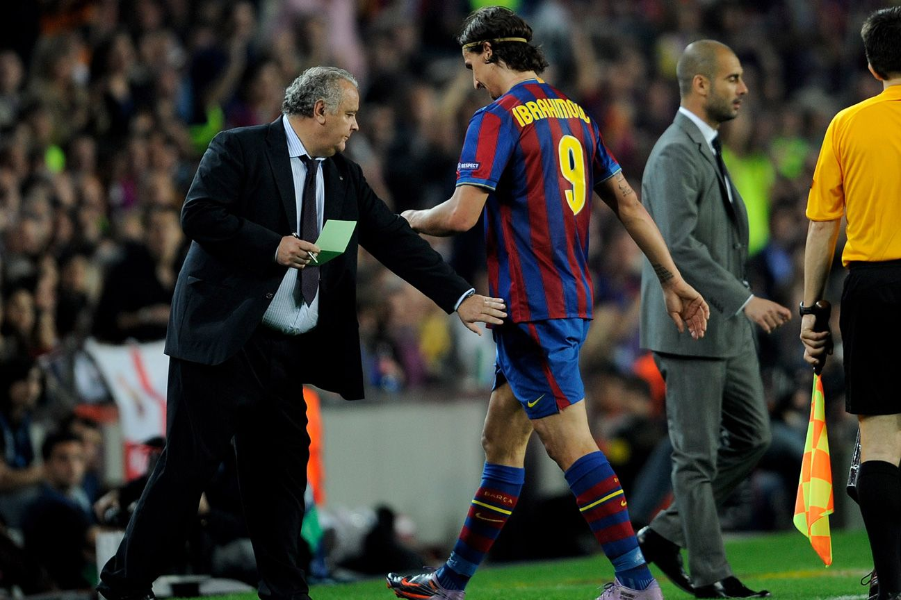 Zlatan Ibrahimovic: I did not have a problem with Pep Guardiola, he had one with me