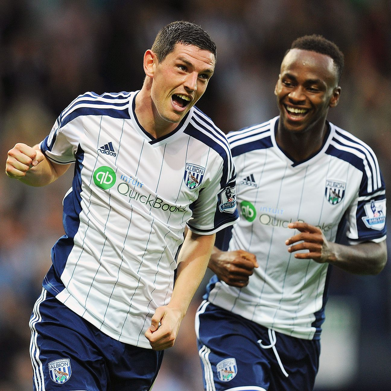 Graham Dorrans and Saido Berahino combined to score three of West Brom's four goals against Burnley on Sunday.