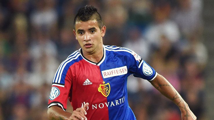 Derlis Gonzalez was clearly undaunted in making his Champions League debut at Madrid's Estadio Santiago Bernabeu.