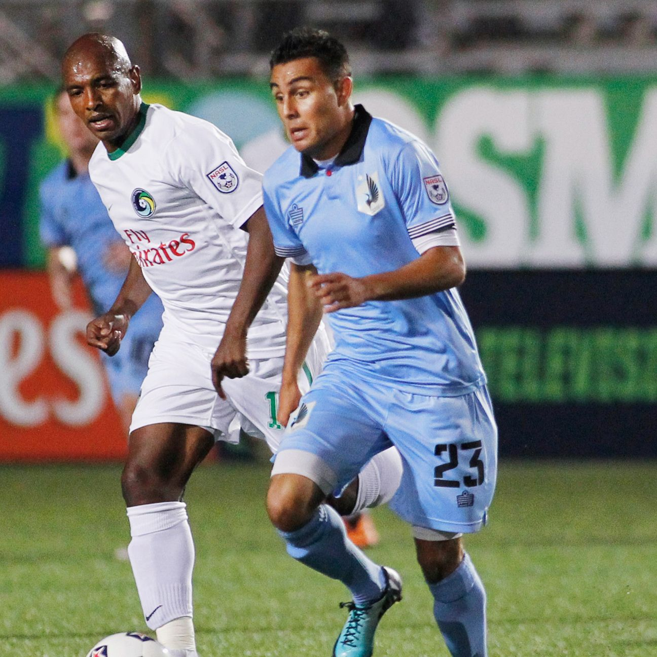 Midfielder Miguel Ibarra made his USMNT debut in 2014 while a member of the NASL's Minnesota United.