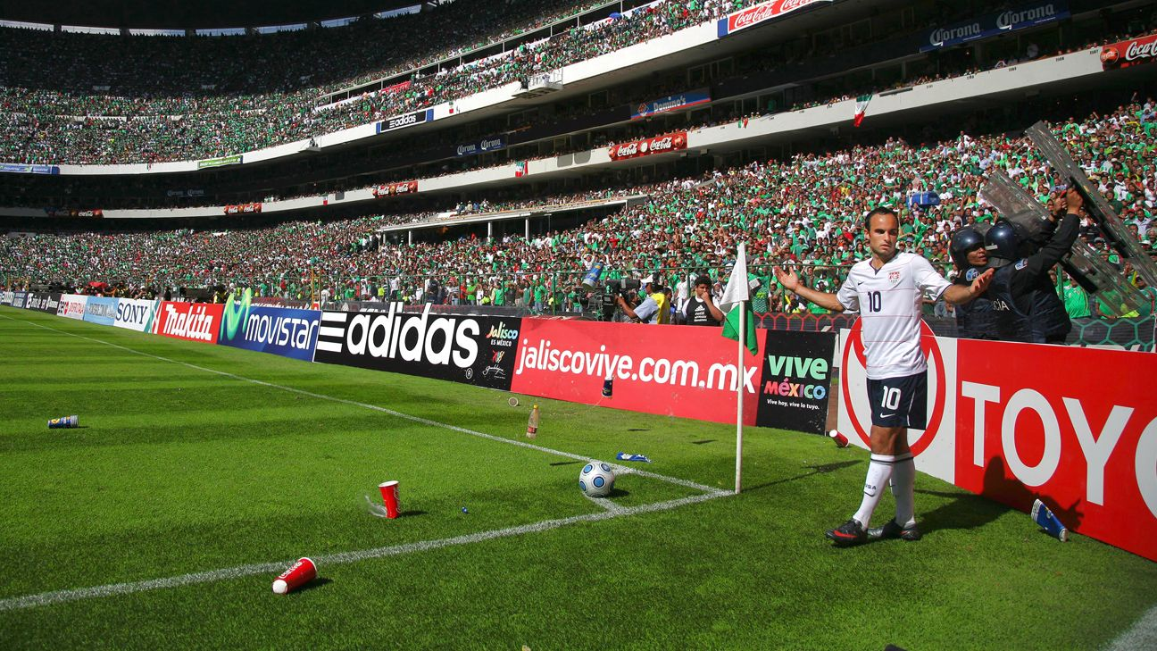 There was no love lost between Donovan and Mexico fans, as famously captured in El Tri's 2-1 win over the U.S. in a 2009 World Cup qualifier at the Estadio Azteca.