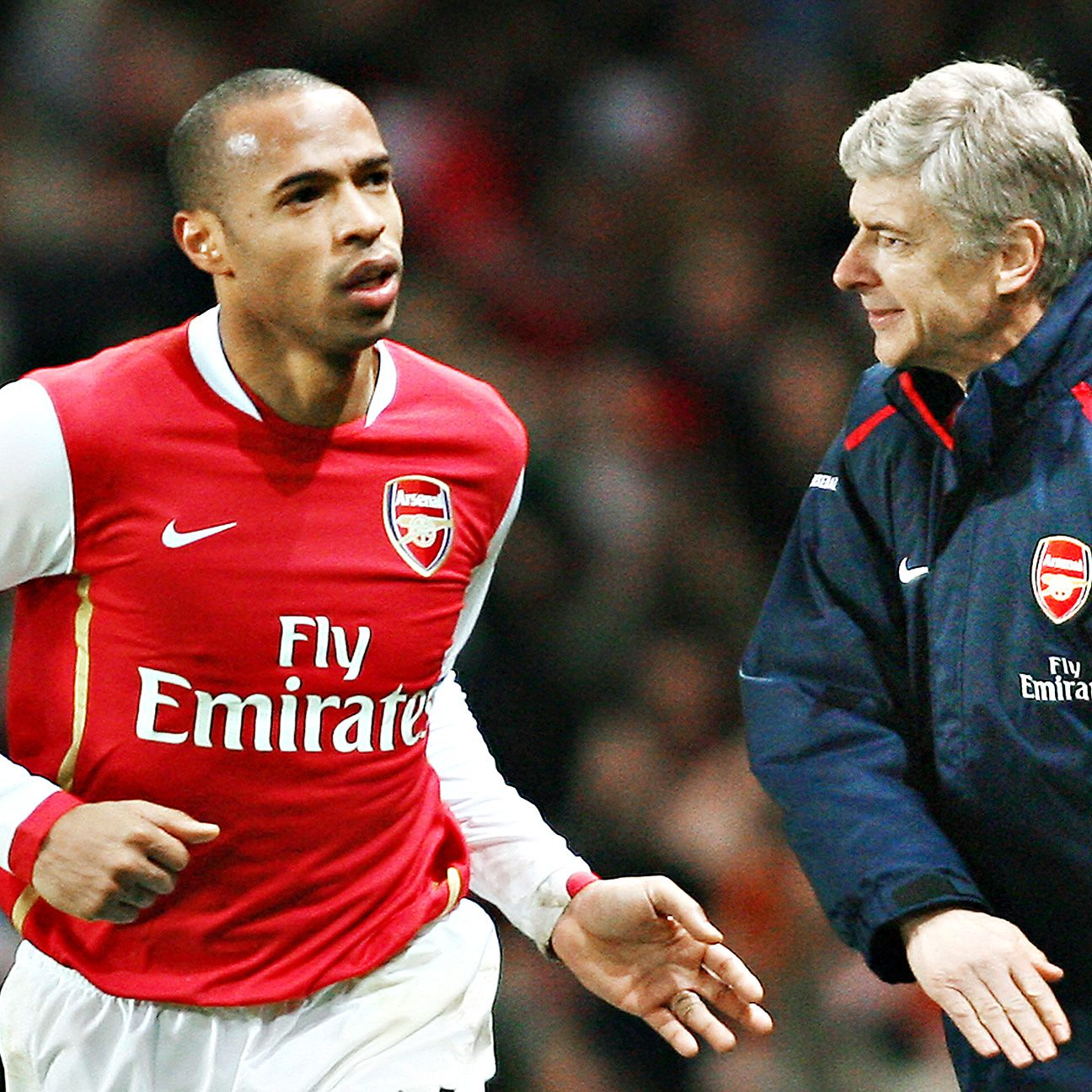 Wenger's recruitment of Thierry Henry to Arsenal brought a long spell of success to the Gunners.