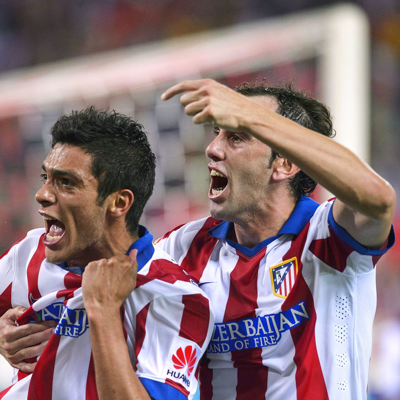 The relief and joy on the face of Raul Jimenez was palpable after the Mexican striker tallied his first goal for Atletico in Saturday's romp over Sevilla.