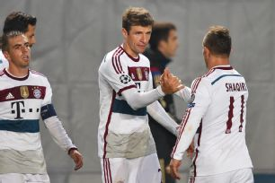 Thomas Muller's penalty conversion helped Bayern avoid any surprises at CSKA Moscow.
