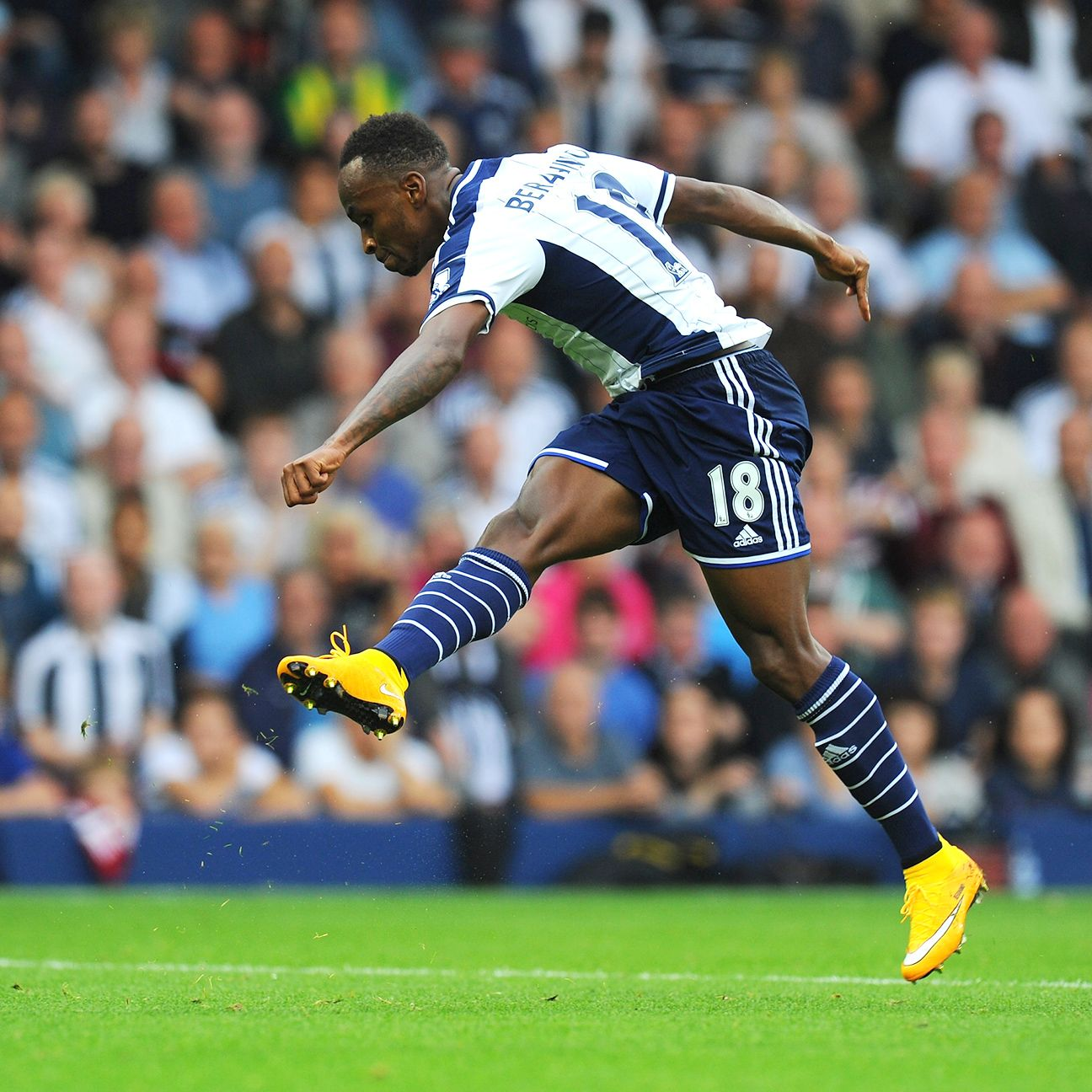 Selling Saido Berahino could be just the thing that helps West Brom survive relegation this season.
