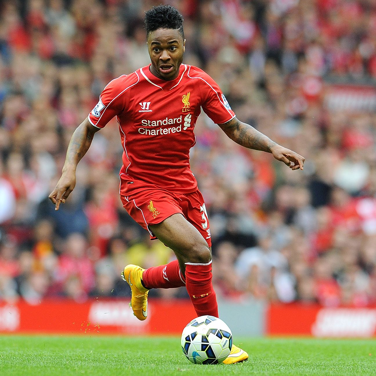 Manchester United will have to be on alert whenever Liverpool's Raheem Sterling is on the ball.