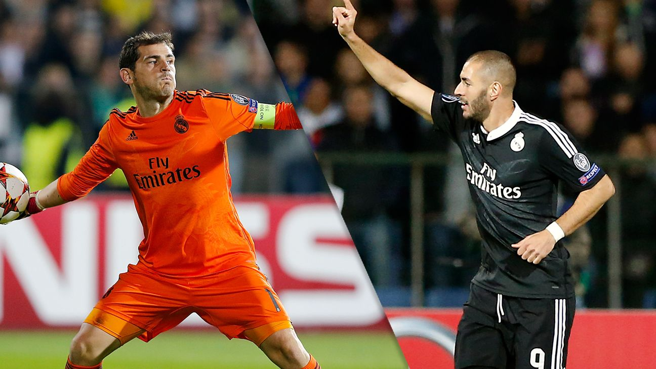 Iker Casillas and Karim Benzema played key parts in Real Madrid's 2-1 win over Ludogorets.