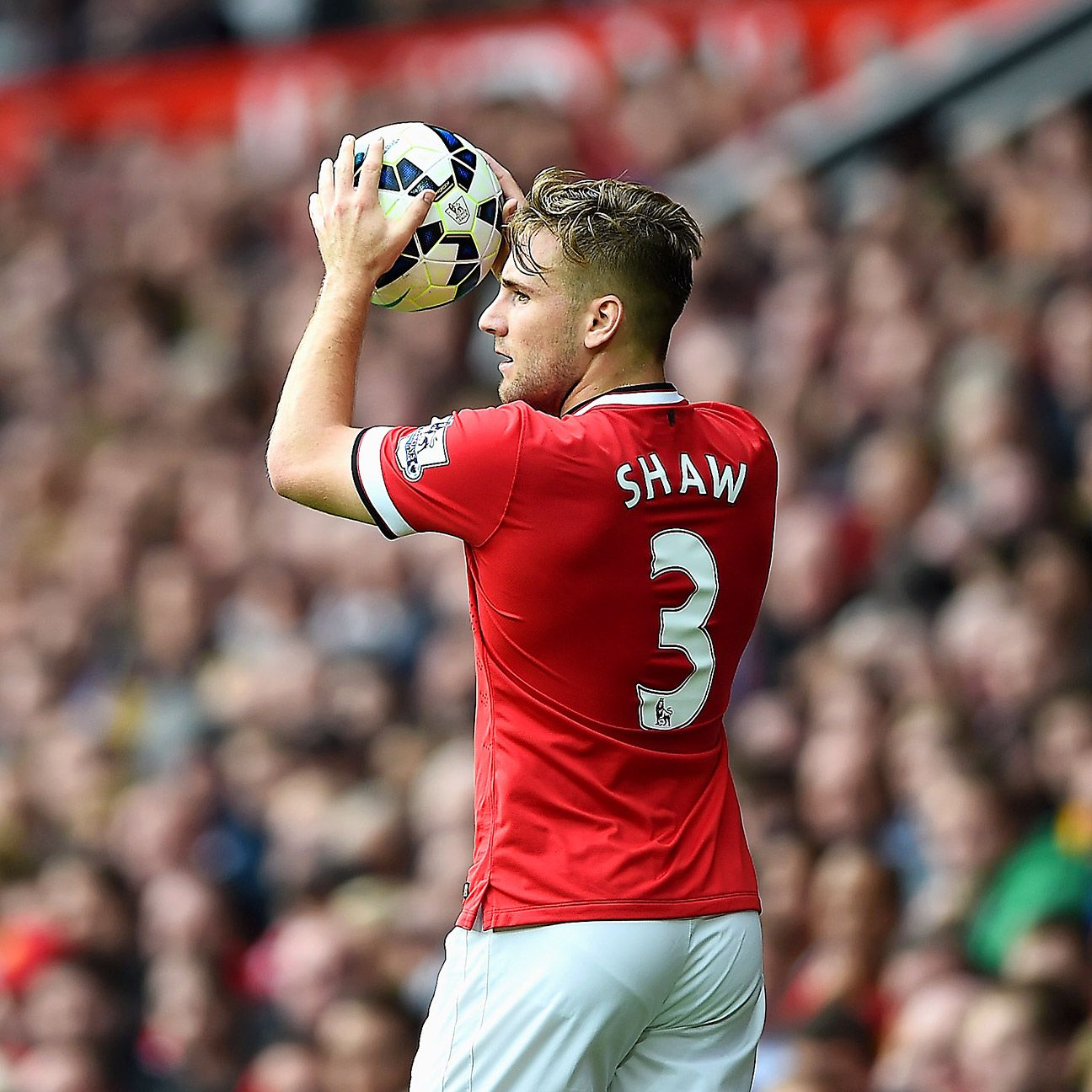 The improvement from Luke Shaw in his second season at Old Trafford was notable.