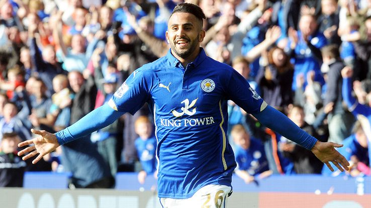 Leicester appear to have held on to Riyad Mahrez.