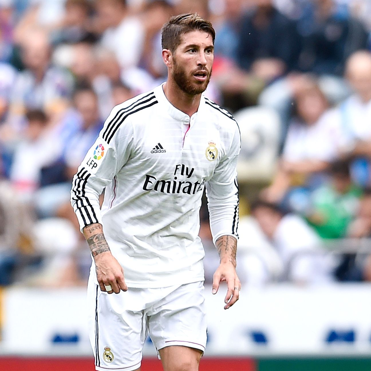 It remains to be seen whether Sergio Ramos will be fully fit for this month's <i>Clasico</i>.