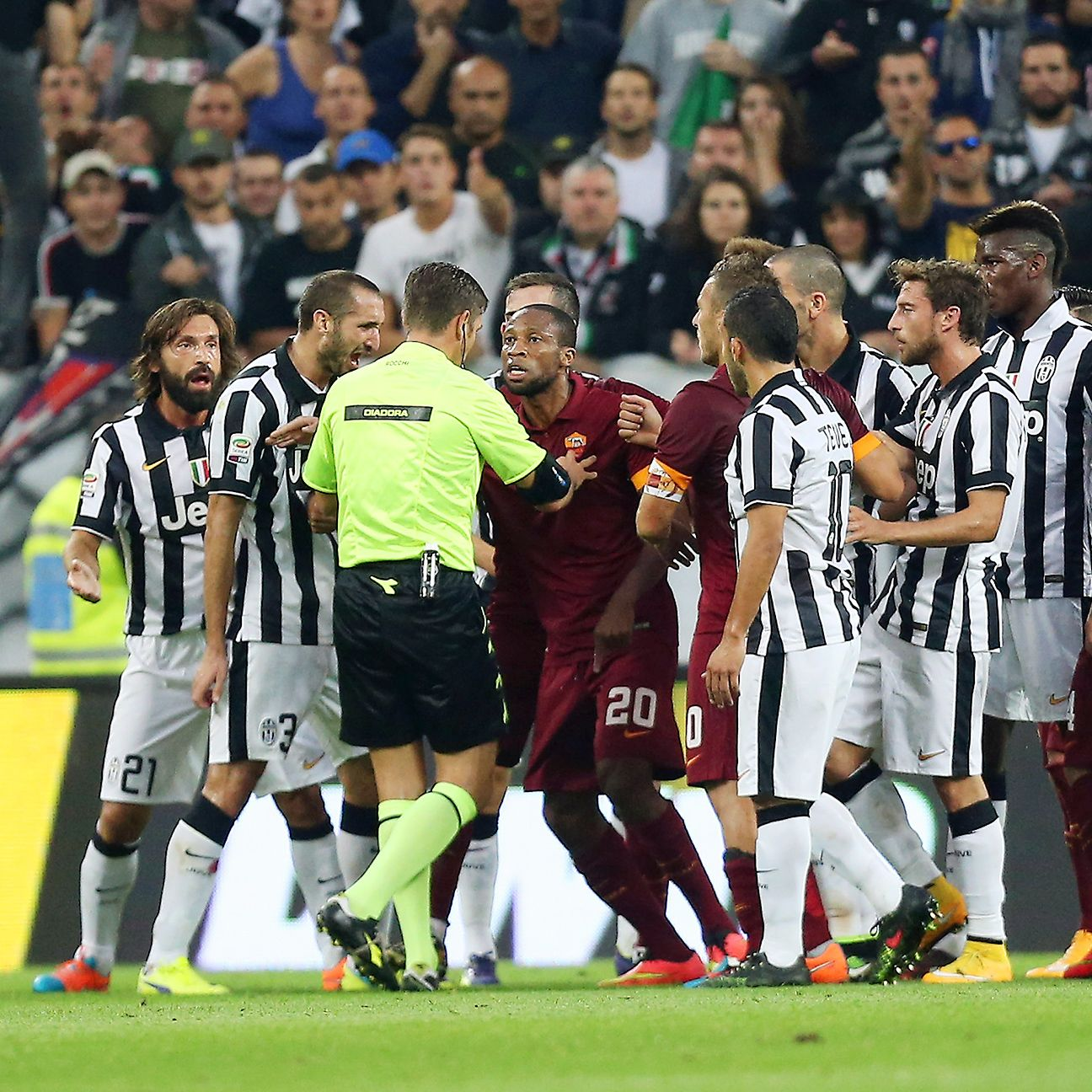 Words continue to be exchanged between Juventus and Roma following their controversial Sunday encounter.