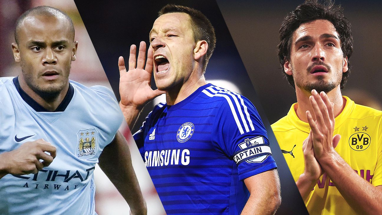 Centre backs the likes of Vincent Kompany, John Terry and Mats Hummels are increasingly difficult to find in modern football.