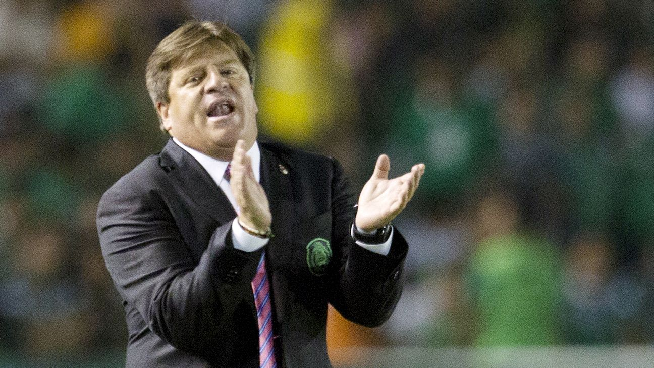 Miguel Herrera's Mexico are unbeaten in their three matches following the World Cup.