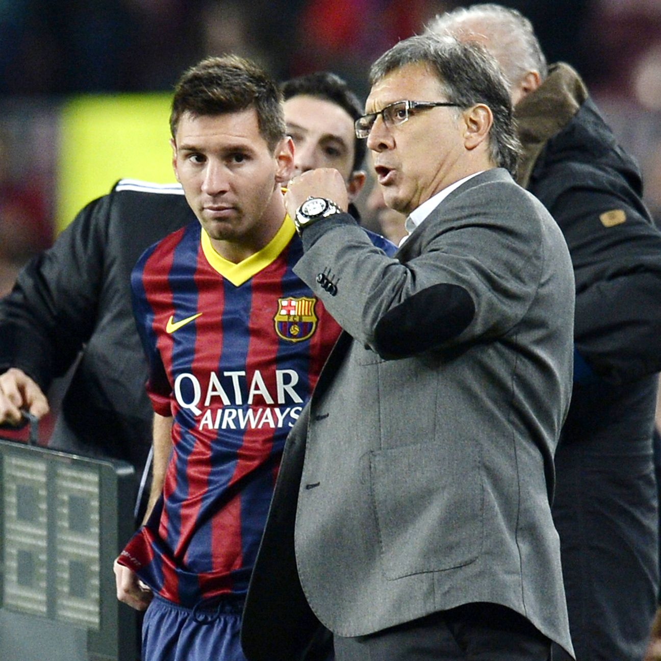 Lionel Messi and Gerardo Martino's one year together in Barcelona resulted in a trophy-less season at the Camp Nou.