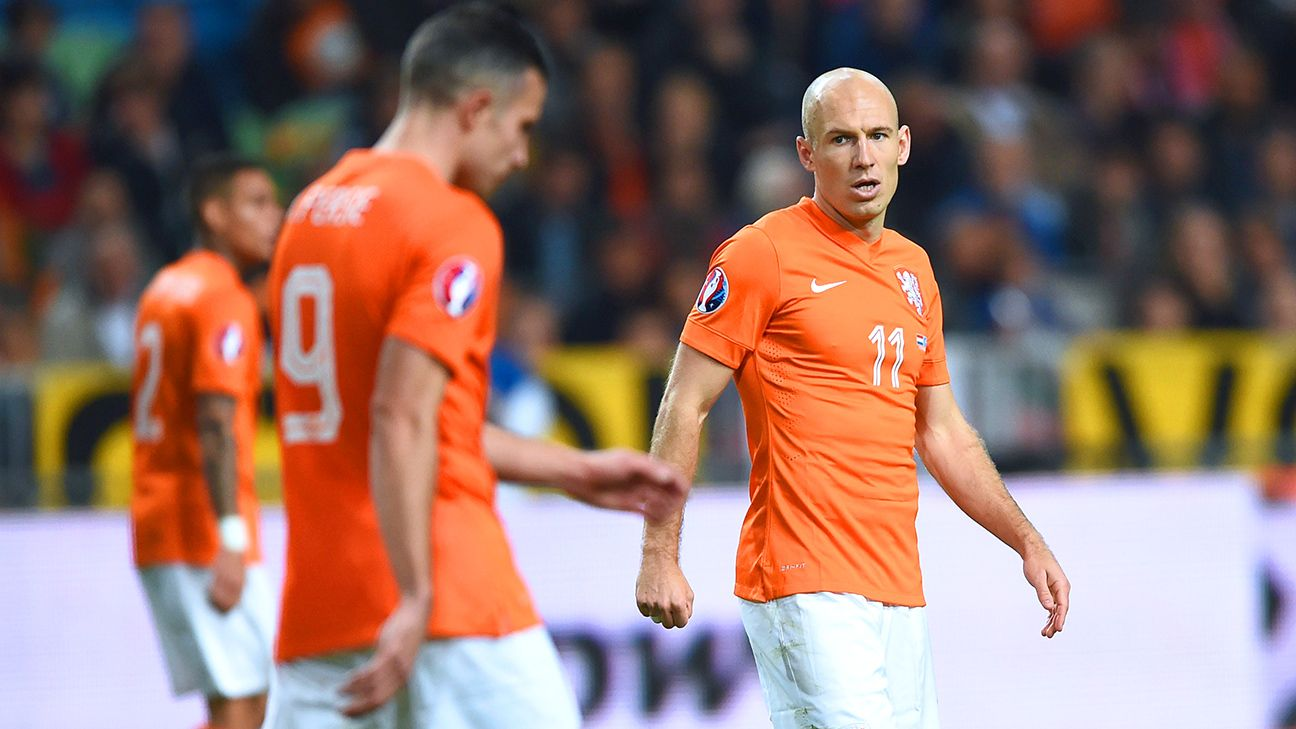 Friday proved to be a struggle for Dutch attackers Arjen Robben and Robin van Persie against Kazakhstan.
