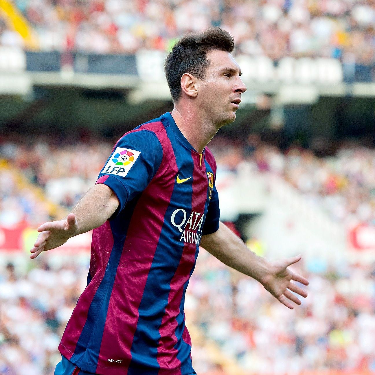 Lionel Messi just needs three more goals to become the all-time leading scorer in La Liga history.