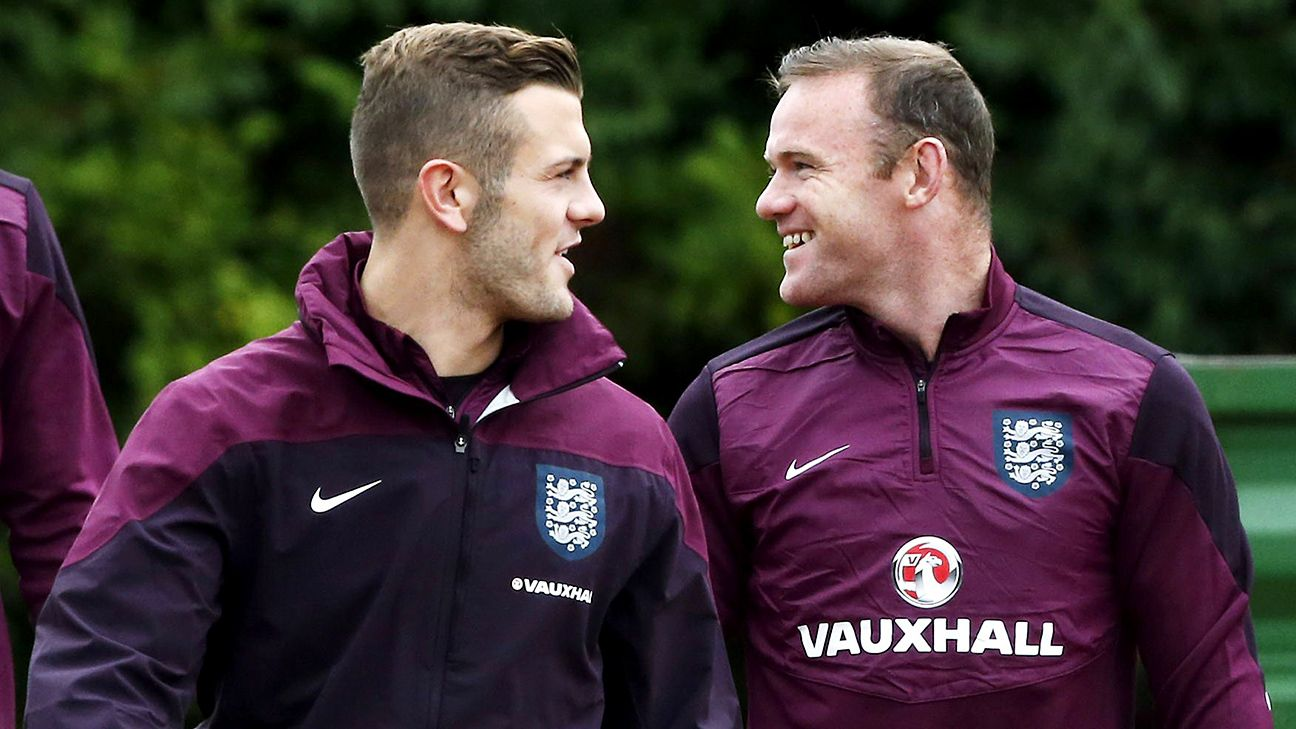 Jack Wilshere calls Wayne Rooney a 'dad figure' for England