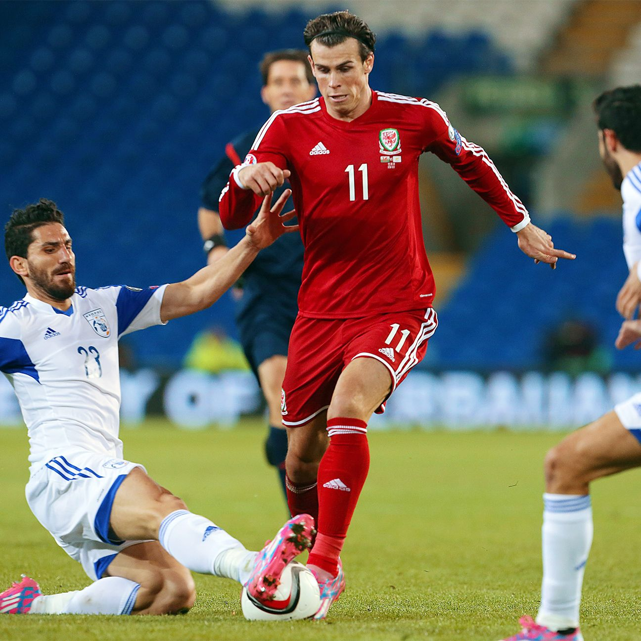 Gareth Bale continued his fine form in helping Wales to three points versus Cyprus.