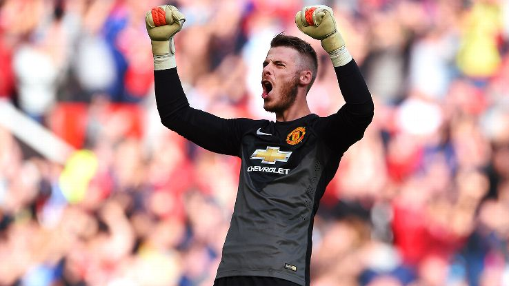 David De Gea saved a Leighton Baines penalty to help Manchester United to a 2-1 victory over Everton earlier this month.