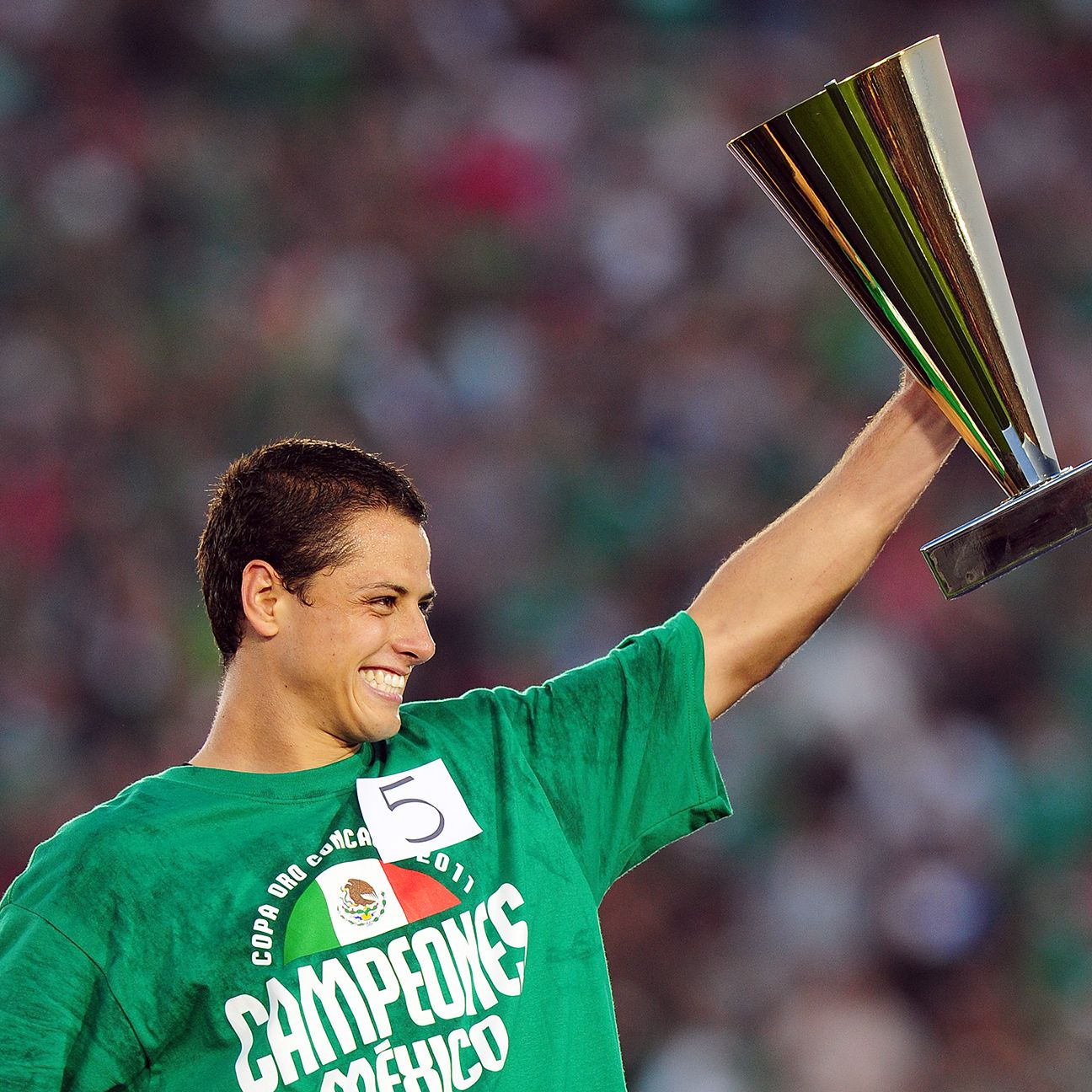 Mexico fans can expect to see Chicharito Hernandez at next summer's Gold Cup, but probably not at the 2015 Copa America in Chile.