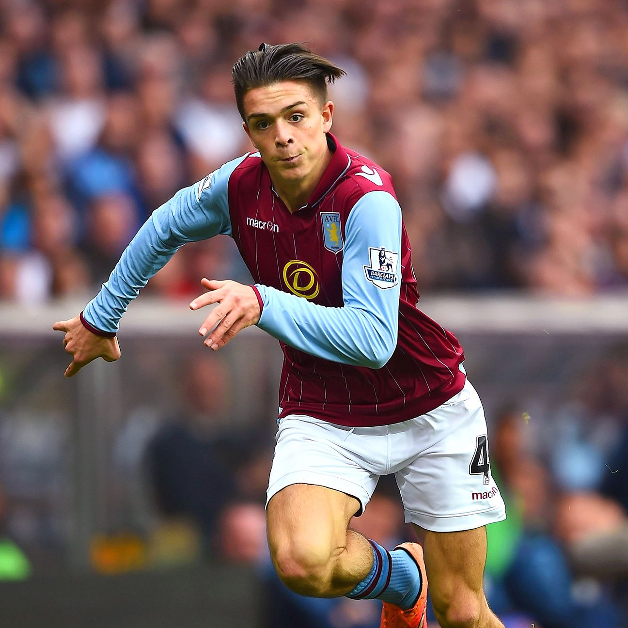 Club starlet Jack Grealish could be in line for a start on Saturday against Everton.