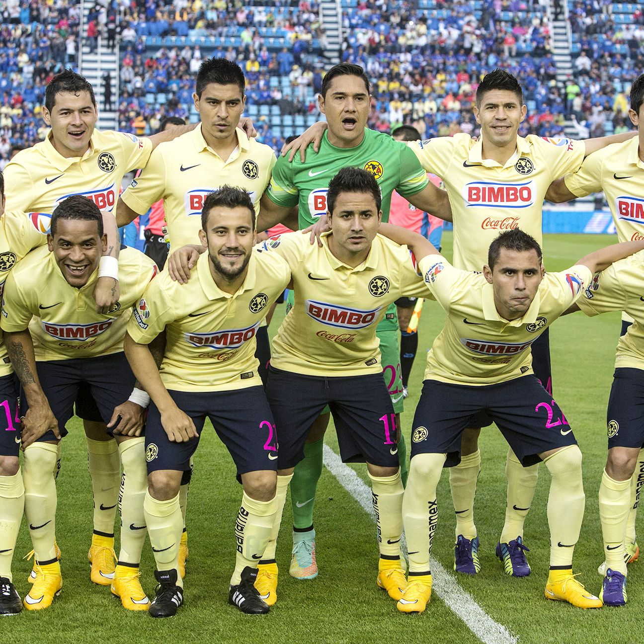 Club America are favoured to repeat as Liga MX champions in the 2015 Clausura.