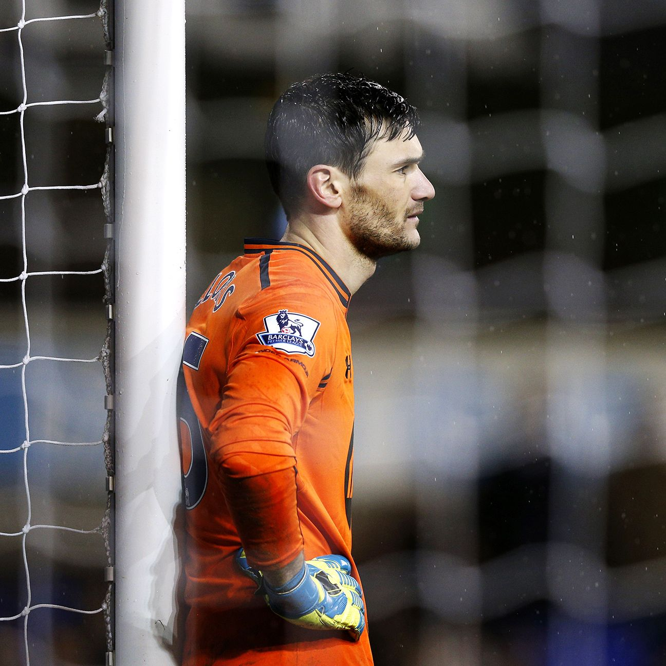 Hugo Lloris collected eight clean sheets in 35 Premier League appearances with Spurs during the 2014-15 season.
