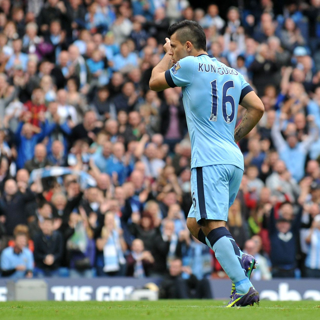 The red-hot Sergio Aguero of Manchester City is a logical choice to be a fantasy captain.