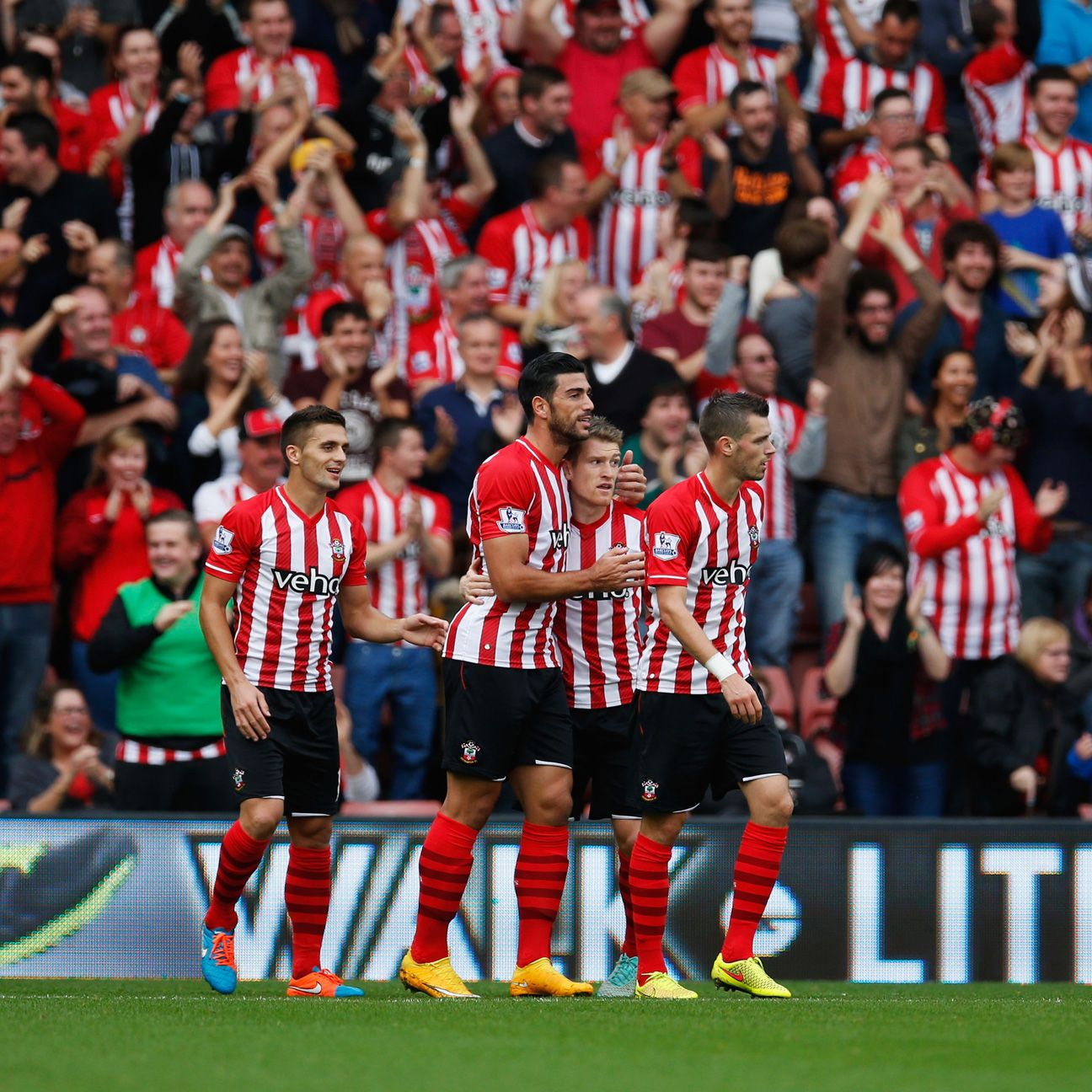 Graziano Pelle keeps on rolling for Southampton after Saints' 8-0 walloping of Sunderland.