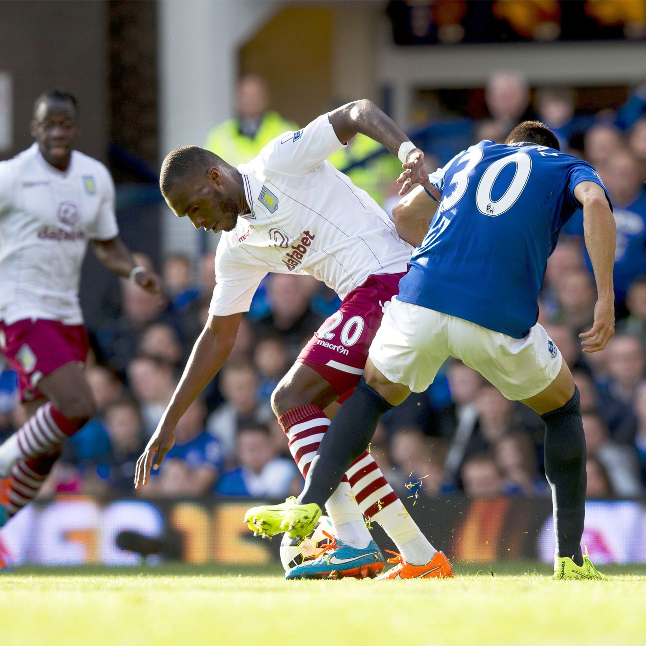 Christian Benteke's return to action is a timely one for goal-starved Aston Villa.
