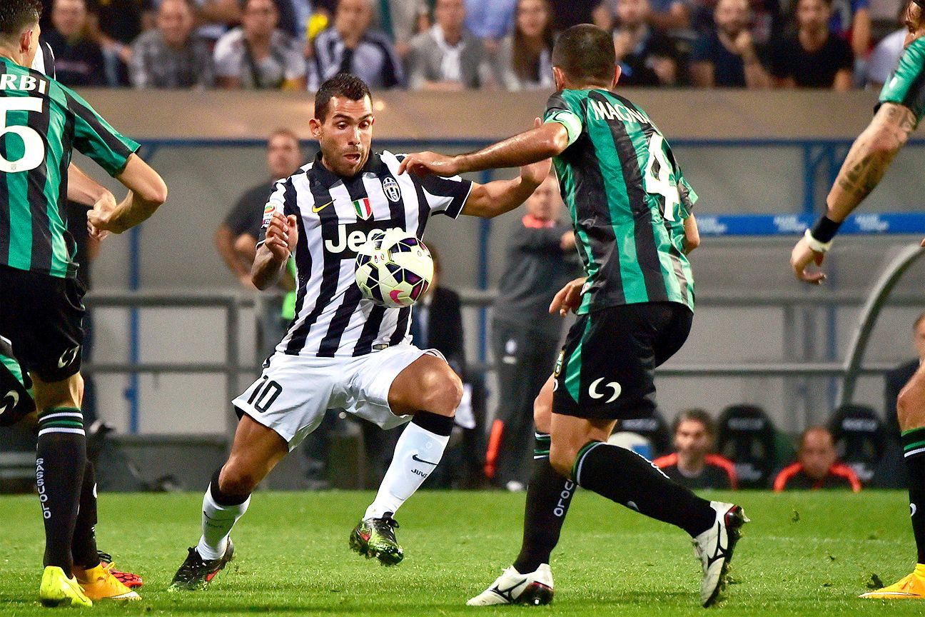 Sassuolo gave Carlos Tevez and Juventus very little room to work with in their 1-1 draw.