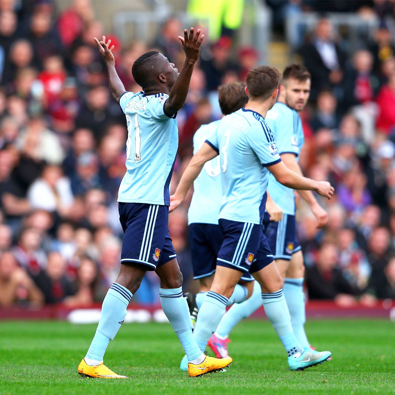 Enner Valencia continued the bright start to his West Ham career with another goal.