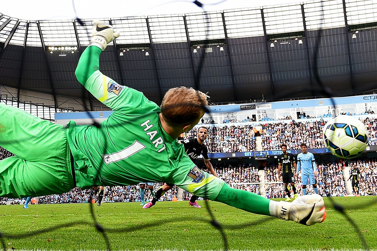 Joe Hart's save of Roberto Soldado's penalty was a pivotal moment in Manchester City's 4-1 win over Spurs.