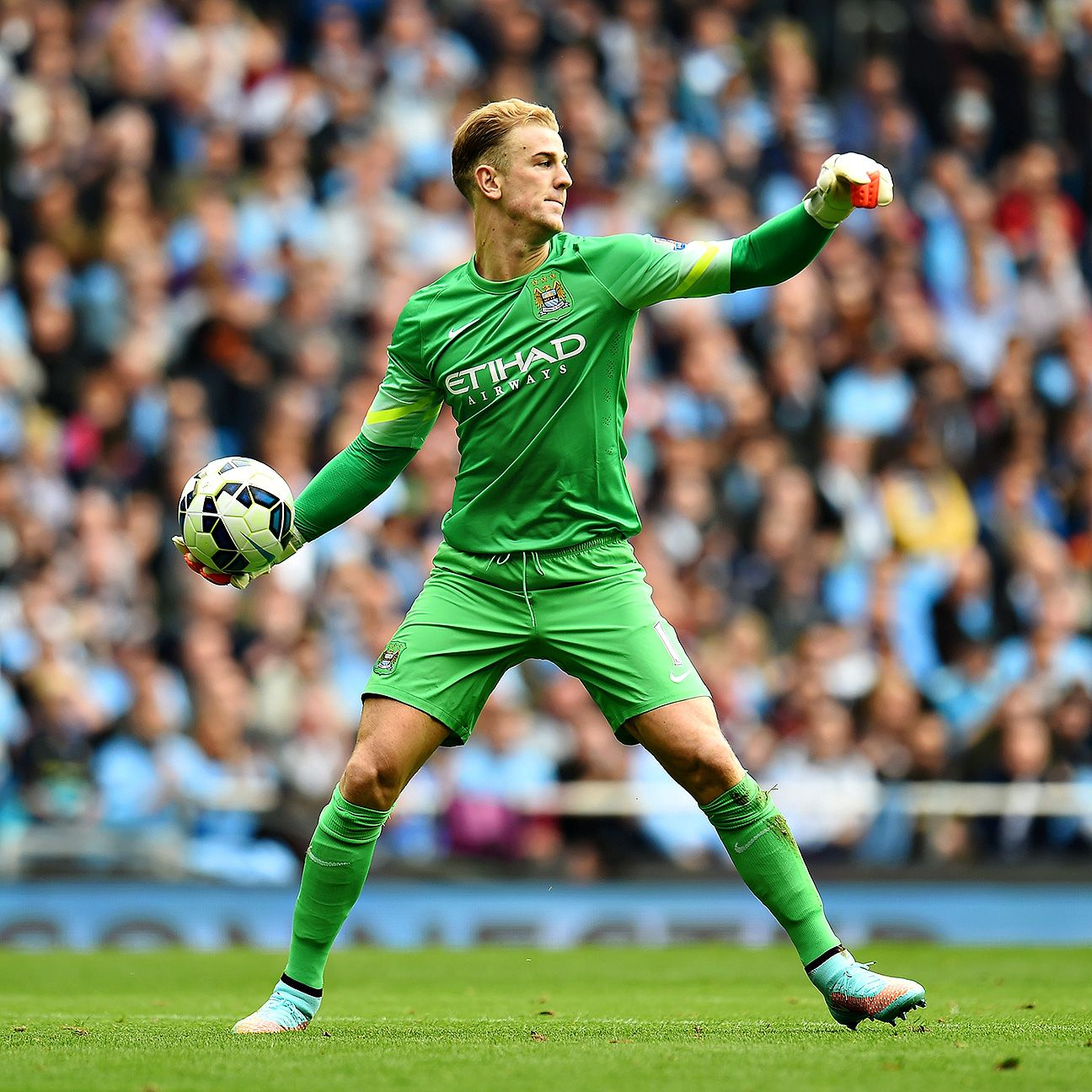 Joe Hart has registered seven Premier League clean sheets thus far for Manchester City.