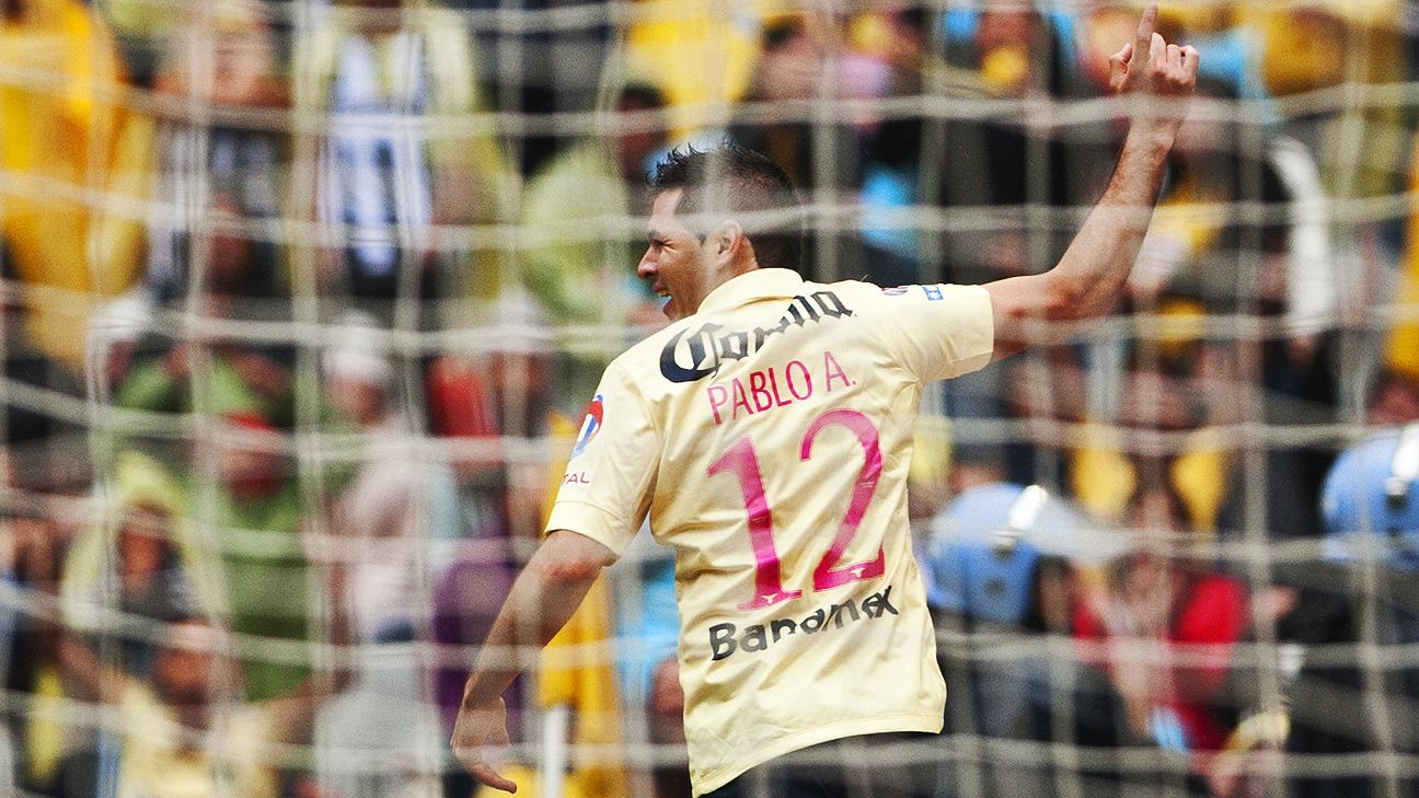 Pablo Aguilar helped Club America get back on the winning track in Las Aguilas' home victory over Monterrey.