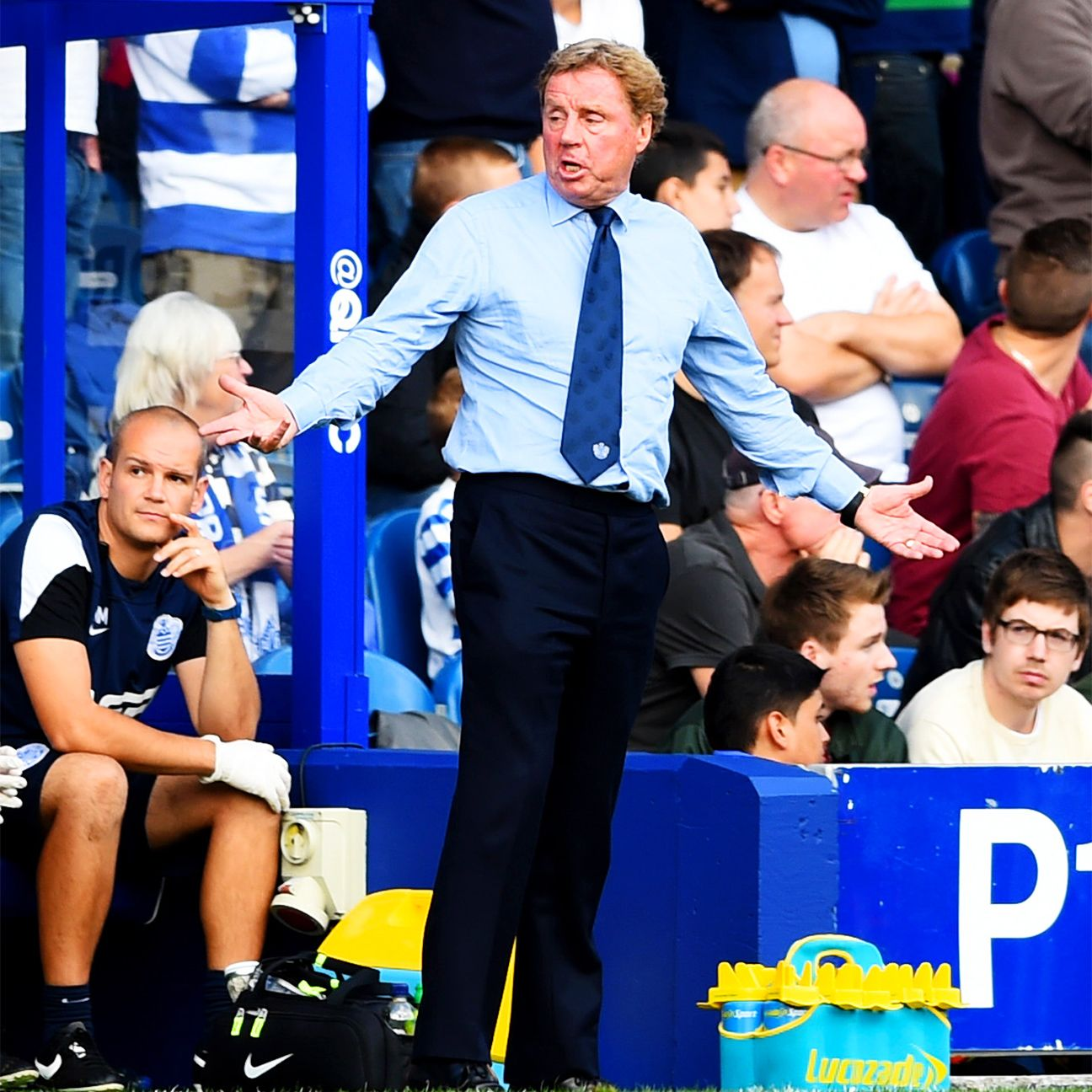 QPR boss Harry Redknapp pulled all the right strings, but still came out on the short end of the stick versus Liverpool.