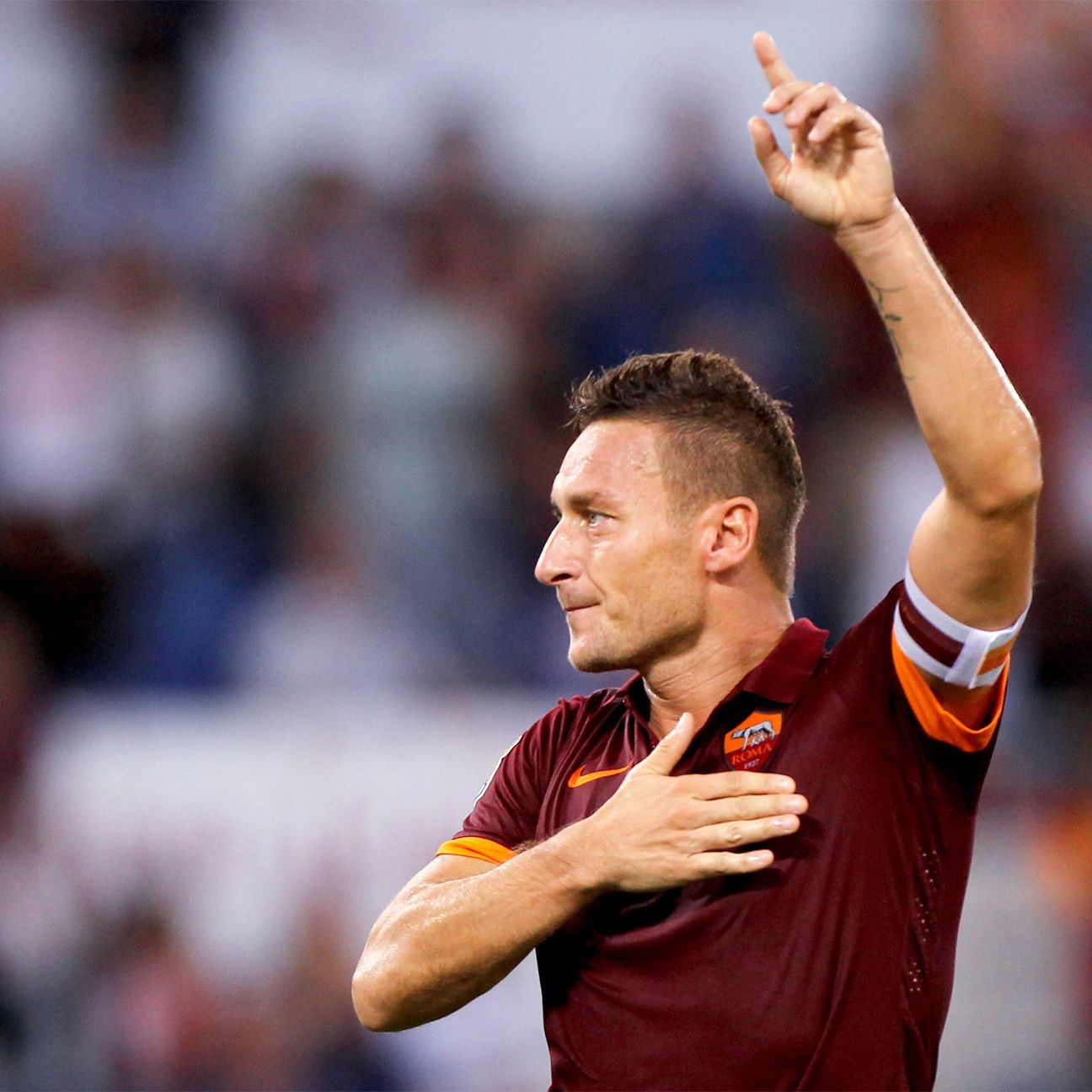 Francesco Totti was his usual clinical self in 60 minutes of work against Chievo.