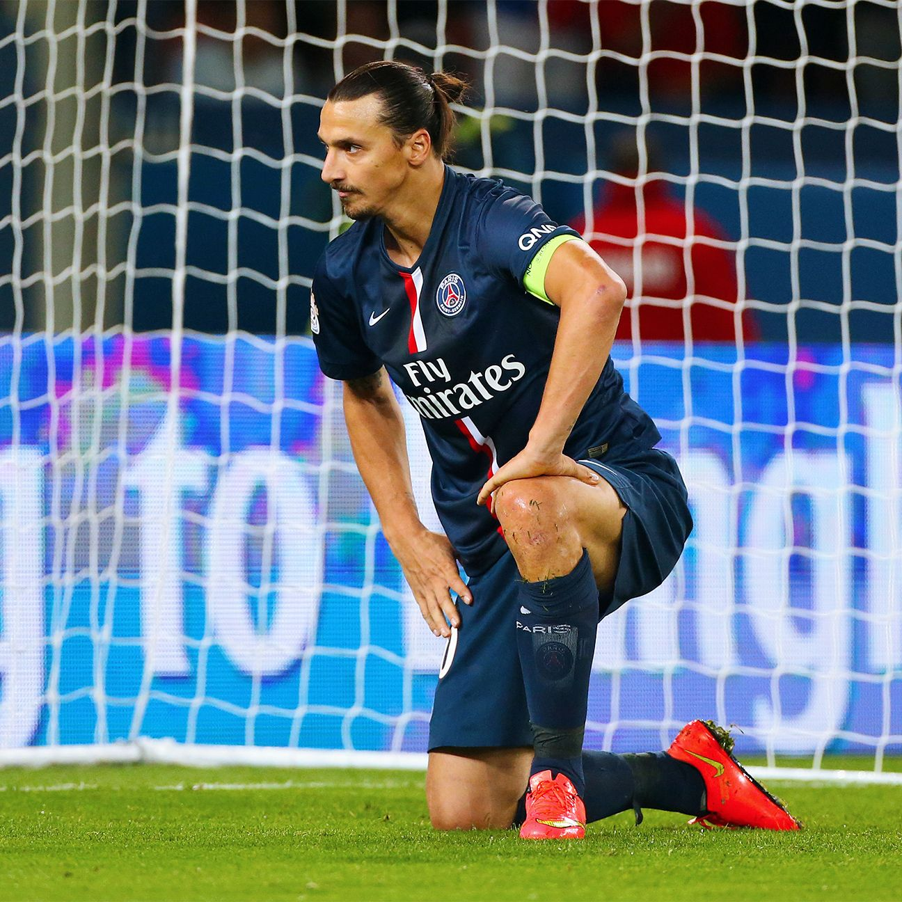 It is unknown exactly when Zlatan Ibrahimovic will return to action for PSG.