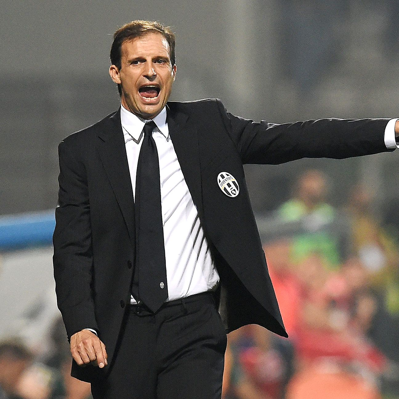Juventus head coach Massimiliano Allegri will face a tactical battle when his side meet Michel's Olympiakos.