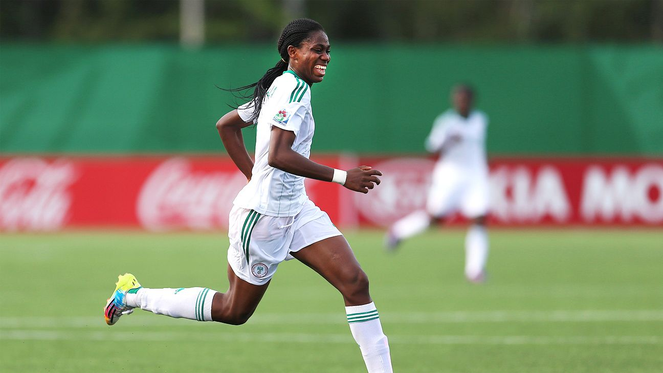 Fresh off a sparkling performance at the Under-20 Women's World Cup, Asisat Oshoala hopes to lead the Nigerian senior team into next year's Women's World Cup in Canada.