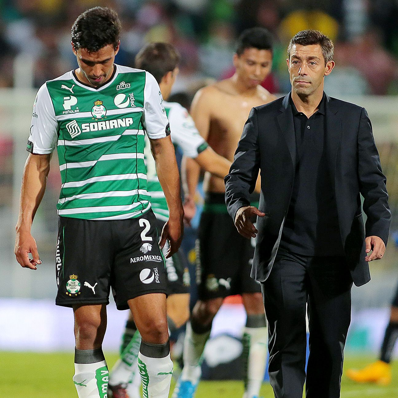 After being as high as third in the table, Pedro Caixinha's Santos are now in free fall and could miss out on the liguilla.