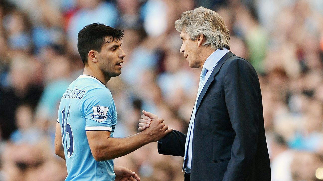 Sergio Aguero, Manuel Pellegrini and Man City are favored to repeat as champs, according to the latest SPI forecast.