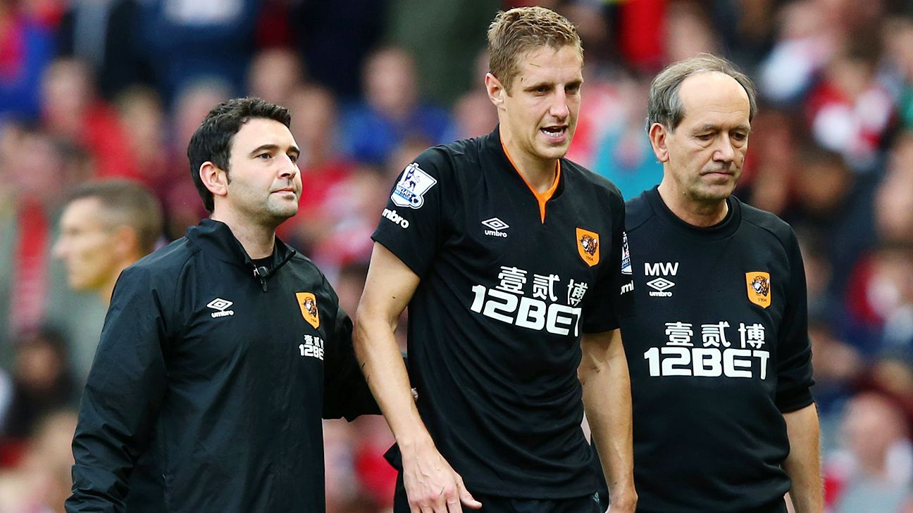 Michael Dawson is set to miss Hull City's visit to Liverpool, thus leaving a big hole in the Tigers' defence.