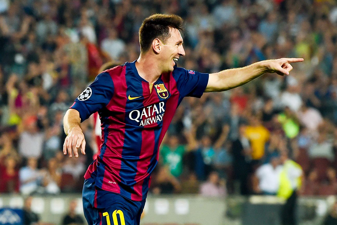 Lionel Messi is doing more providing than scoring this season at the Camp Nou.