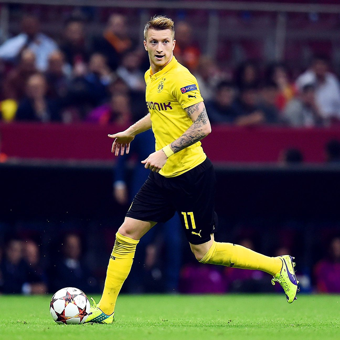 Marco Reus was at his very best for Dortmund in their midweek thumping of Galatasaray.
