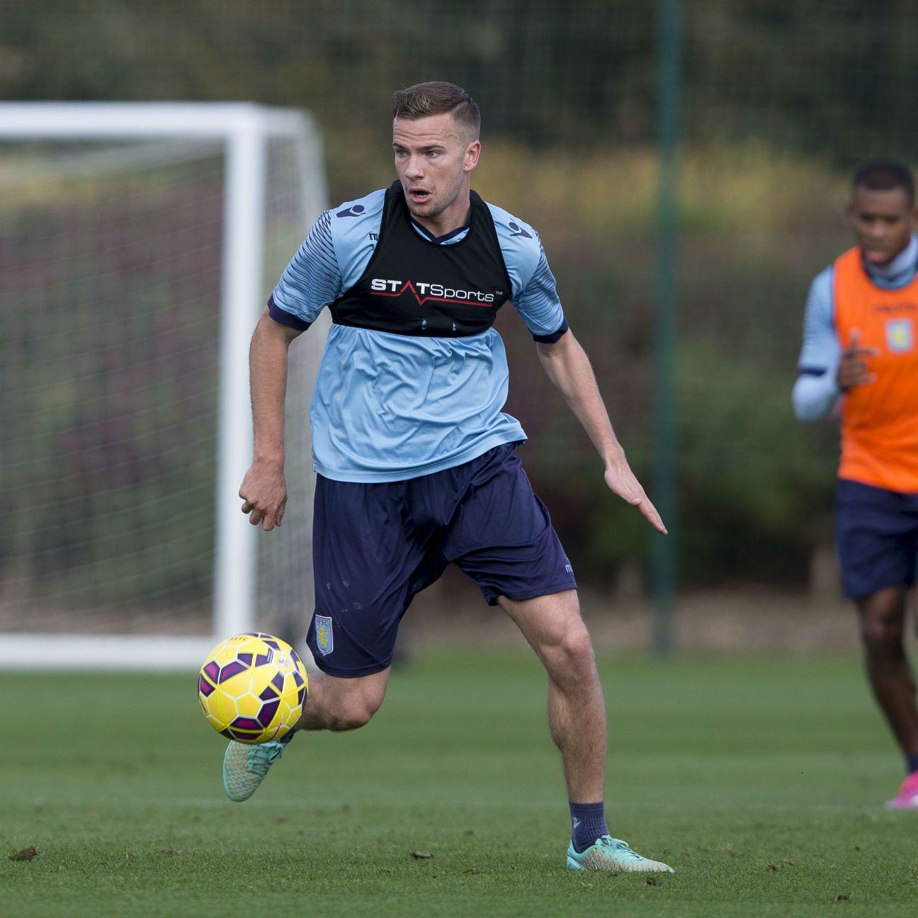 Tom Cleverley appeared in 32 of 38 Premier League matches for Aston Villa in 2014-15.